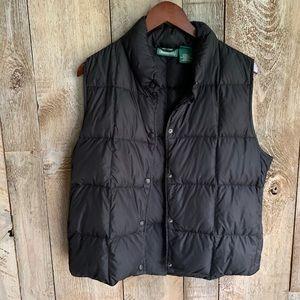 L.L. Bean Goose Down Insulated Puffer Vest Size L